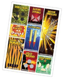 Indoor Firework BONANZA Selection Pack